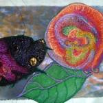 ladybug and background